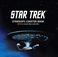 Star Trek Starships Coaster Book - Set of 6 Collectible Coasters